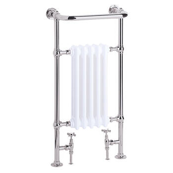Clifton Baby Htr Chrome High Quality Bathroom Designer Towel Rail