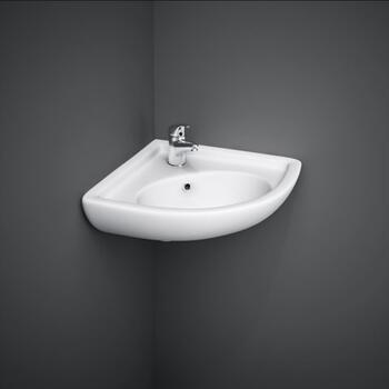 Compact Corner Basin