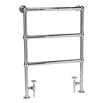 Cp Countess Heated Towel Rail 966mm X 676mm Contemporary Bathroom