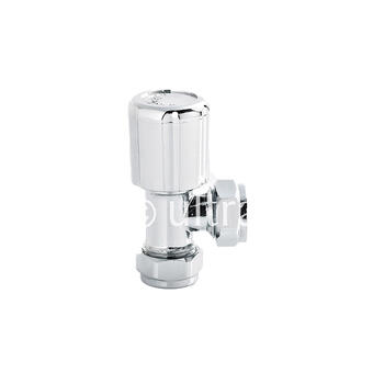 C/p Radiator Valves Angled Contemporary