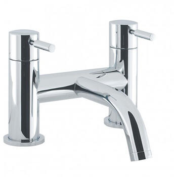 Bath monoblock Tap  With a featured Standard spout And a lever Handle