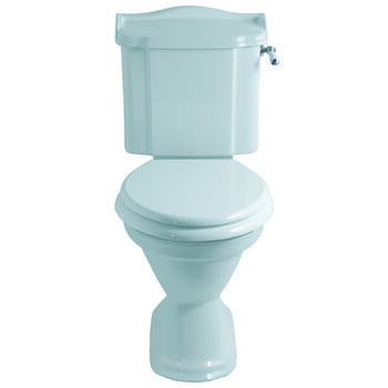 Drift Close Coupled Cistern Lever Inc Close Coupled Pan & Seat curved High Quality