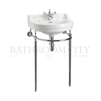 Edwardian Round  Basin 56cm and Wash Stand