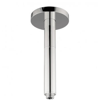 Fixed Hds Rex Ceiling Bathroom Shower Arm 200mm, Square Head