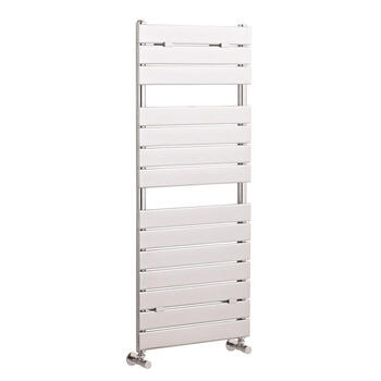 Flat Panel Radiator 1213mm X 500mm Modern Bathroom Designer Towel Rail