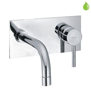 Florentine Exposed Parts of Single Lever Built-in Concealed Manual Valve with Basin Spout Bathroom lever spout Taps