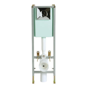 Frnt Ac Wall Hung Frame & Conc Cist frame and cistern