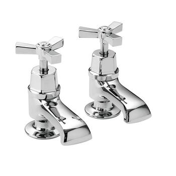 deluxe Traditional Twin Basin taps