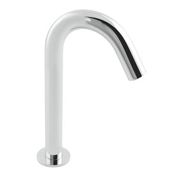 Modern inspirational CHROME spout Basin tap With a Handle