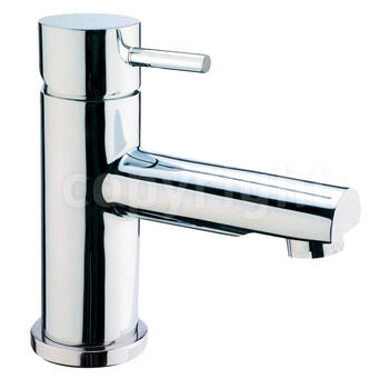 stylish CHROME standard Basin tap With a lever Handle