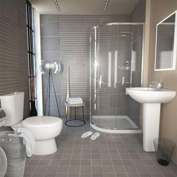 KARIZMA QUADRANT SHOWER SUITE Designer Contemporary Bath
