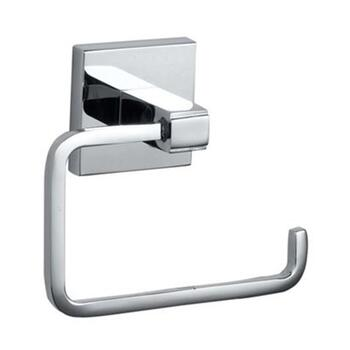 Kubix Toilet Paper Holder Silver Chrome Wall Mounted Bathroom Accessory