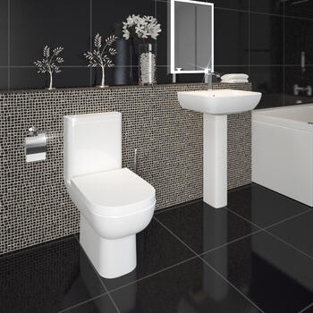 Laguna  4 Piece Bathroom Suite Contemporary