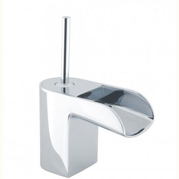Modern sheek waterfall Basin tap With a lever Handle