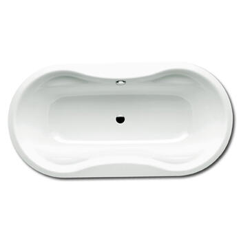 Mega Duo Oval Steel Bath Double Ended