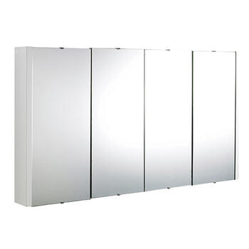 Mercury 1200mm 4 Door Mirrored Cabinet High Quality 4 door