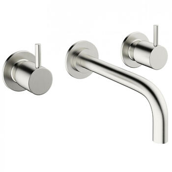 3 Hole Basin Mixer Taps With a lever Handle