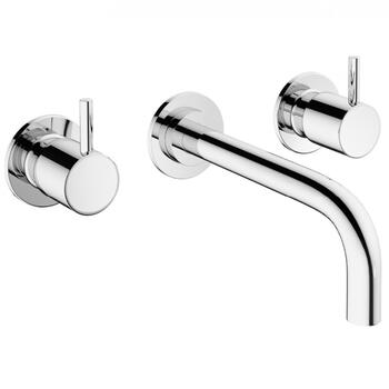 Modern  standard 3 Hole Basin Mixer Taps With a lever Handle
