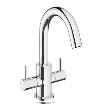 Modern sheek standard 3 Hole Basin Mixer Taps With a lever Handle