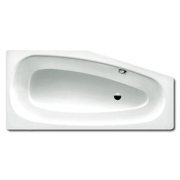 Mini Steel Bath left Hand Double Ended