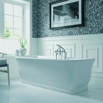 MORTLAKE Freestanding Rectangle Classic Traditional Luxury Bath