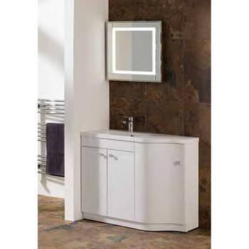 oslo corna combi Unit reduced Contemporary Bathroom Furniture