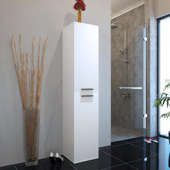 PATELLO TALL BOY STORAGE WHITE for High Quality Bathroom