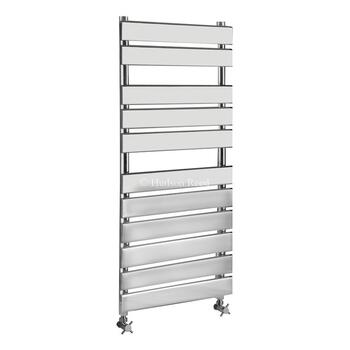 Piazza Bathroom Flat Towel Rail Radiator