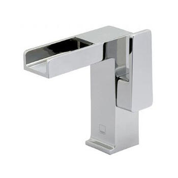 stunning CHROME waterfall Basin tap With a lever Handle