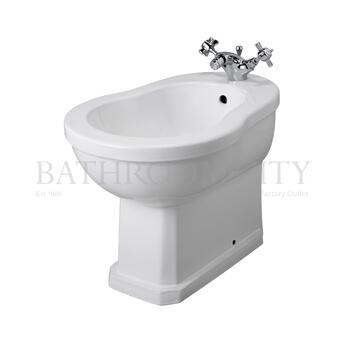 curved  floor mounted Richmond Bidet