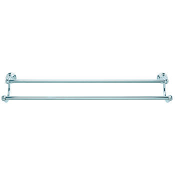Richmond Wall Mounted Double Towel Rail 66cm  Bathroom