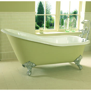 Ritz Slipper Bath 2TH 1700mm With Imperial Feet Fashionable Bathroom