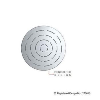 Single Function 240mm dia Round Shape Maze Overhead Shower, Stainless Steel, MP 0.5, Round Head