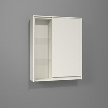 Solitaire 6010 Small Shelving Unit and Wall Cupboard