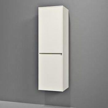 Solitaire 6010 Tall Wall Hung Side Cabinet 2 Doors