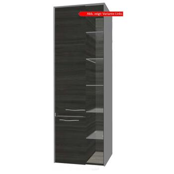 Solitaire 6010 Wall Hung Bathroom Shelving Cabinet 2 Revolving Door 2 Drawers