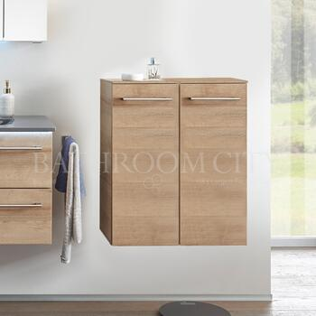 Solitaire 6025 Small bathroom storage unit 2 doors - 178359