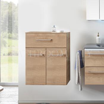 Solitaire 6025 Small bathroom storgae cupboard 2 doors - 178360