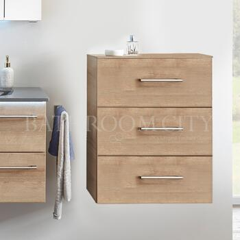 Solitaire 6025 Small bathroon side unit 3 drawers - 178361
