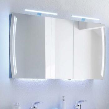 Solitaire 7025 LED Wall Mirror Cabinet 3 Door