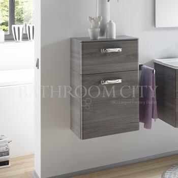Solitaire 9020 Bathroom cupboard 1 drawer 1 door - 178316
