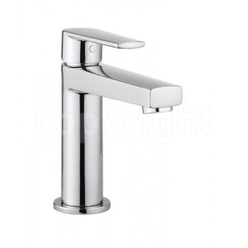 Modern deluxe CHROME standard Basin tap With a lever Handle