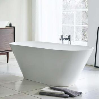 Sontuoso Contemporary Freestanding White Bath