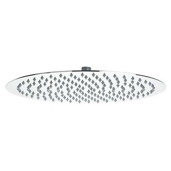 Stainless Steel Slim Round Fixed Shower Head 400mm Diameter