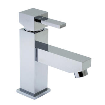 te Mini Mono Basin Mixer Single Lever Deck Mounted Smooth Bodied No Waste