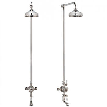 Thermostatic Shower Valve Including Tap Exsposed, Square Head