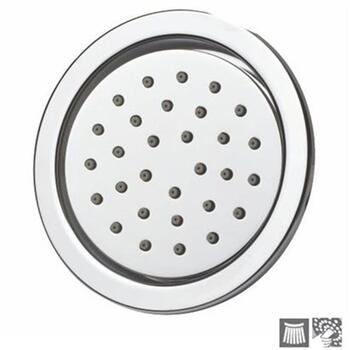 Tilting Round Chrome Round Wall Mounted Shower Head Bodytile, HP 1.0