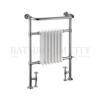 Trafalgar - Chrome Towel Rail Bathroom Radiator