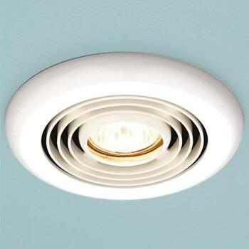 Turbo Bathroom Inline Extractor Fan White Ellegant