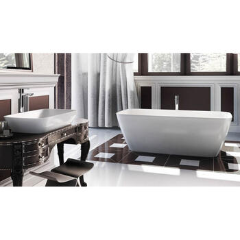 Vicenza Piccolo 1600 X 750 X 555 Rectangle Designer and Luxury Bath